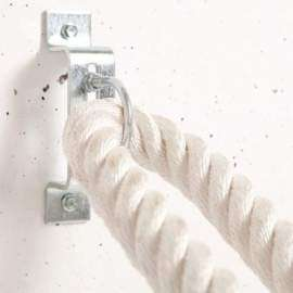 Enganche metálico para cuerda funcional