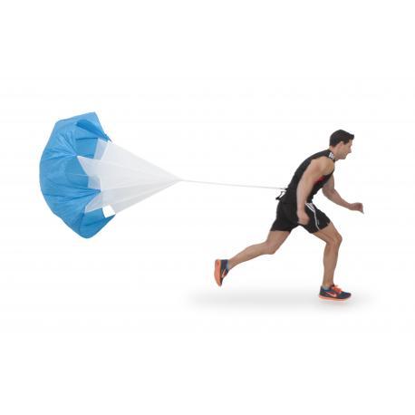 Paracaídas potenciador de velocidad