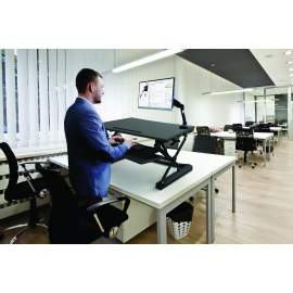 Sit-Stand Desktop Workstation - Estación de trabajo ajustable