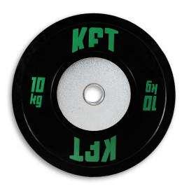 Bumper Plate Competición KFT Negro