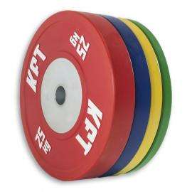 Bumper Plate Competición KFT Color