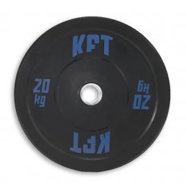 Bumper Plate KFT Negro  Peso-20 kg