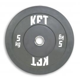 Bumper Plate KFT de Color  Peso-5 Kg.
