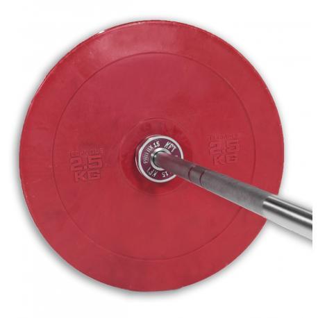 Disco Técnico Rojo y Negro