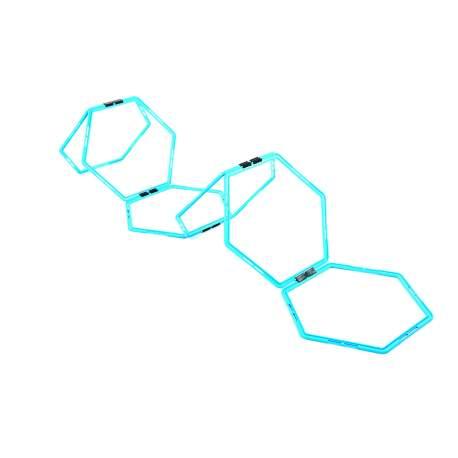 Agility Training Hexagonal Hoops 6 pcs.