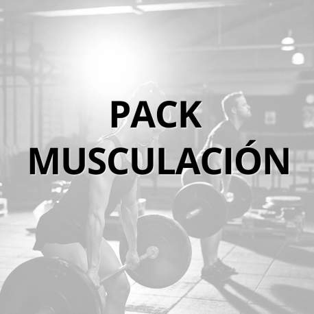 Pack musculación Full con Rack