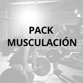 Pack musculación Full + con Rack