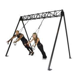 Suspension Trainer Rack