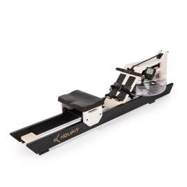 Remo Koufit Hydro Rower (Madera Roble Blanco-Negro)