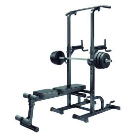 Weight Bench Chin Up Rack