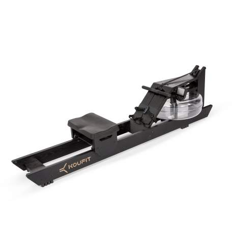 "Máquina de Remo de agua ""Koufit Hydro Rower"" (Madera de roble Negro)"