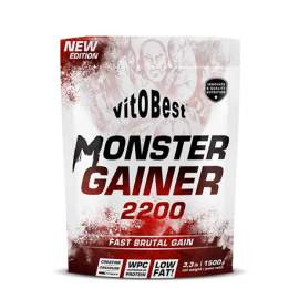 Monster Gainer 2200 - 3kg - Sabores
