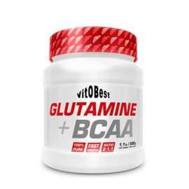 Glutamine + BCAA Powder 500gr