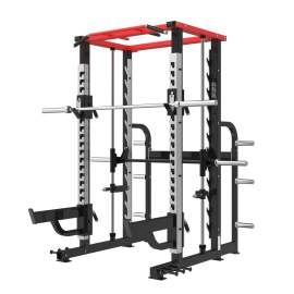 Máquina Smith con Power Rack - Smith Machine with Power Rack