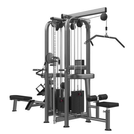 Máquina Jaula Multiestación 4 - Multi-Jungle 4-stack