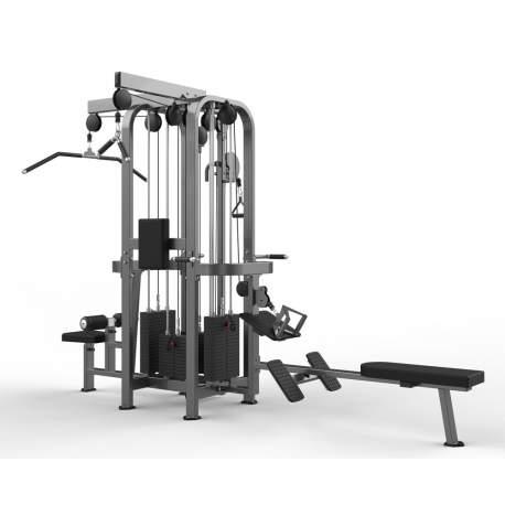 Máquina Multiestación 4 estaciones - Multi-Jungle 4-stack