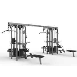 Máquina Multiestación 8 estaciones - Multi-Jungle 8-stack