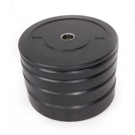Black Rubber Bumper Plates