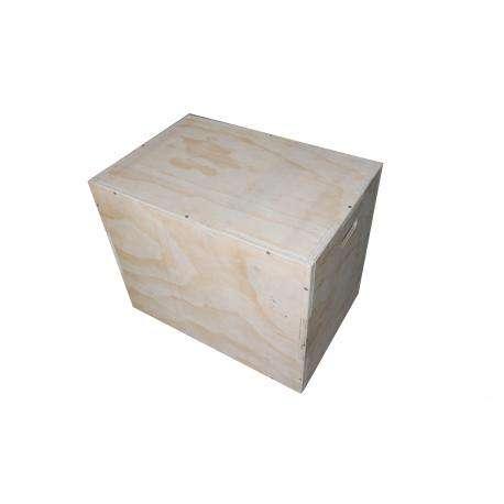 Cajón madera grande - Wood Plyobox . Madera Natural