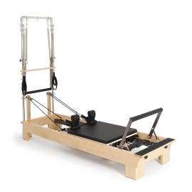 Reformer Pilates de Madera con Torre