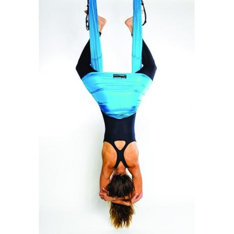 Aerial Yoga. Columpio de Yoga Elástico