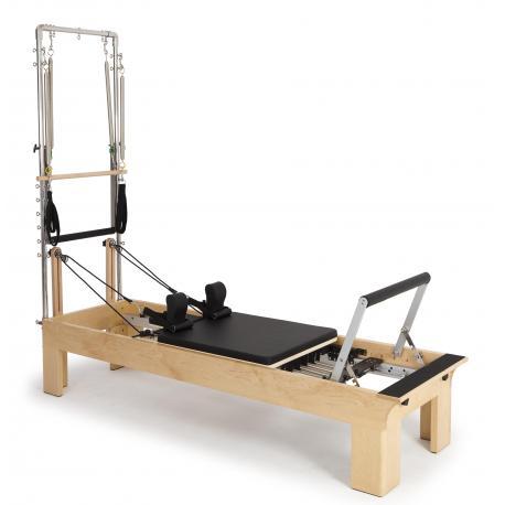 Reformer Pilates de Madera Fisio con Torre