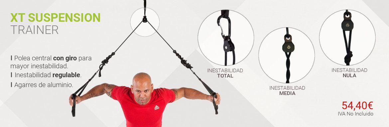 XT suspension trainer para tu entrenamiento funcional