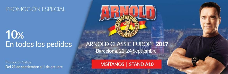 Promo Feria Arnold Classic Europe 2017